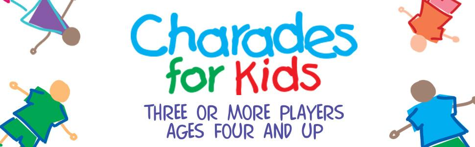 Charades for Kids - Three or more players ages four and up