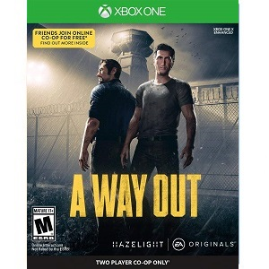 Amazon Com A Way Out Xbox One Electronic Arts Video Games