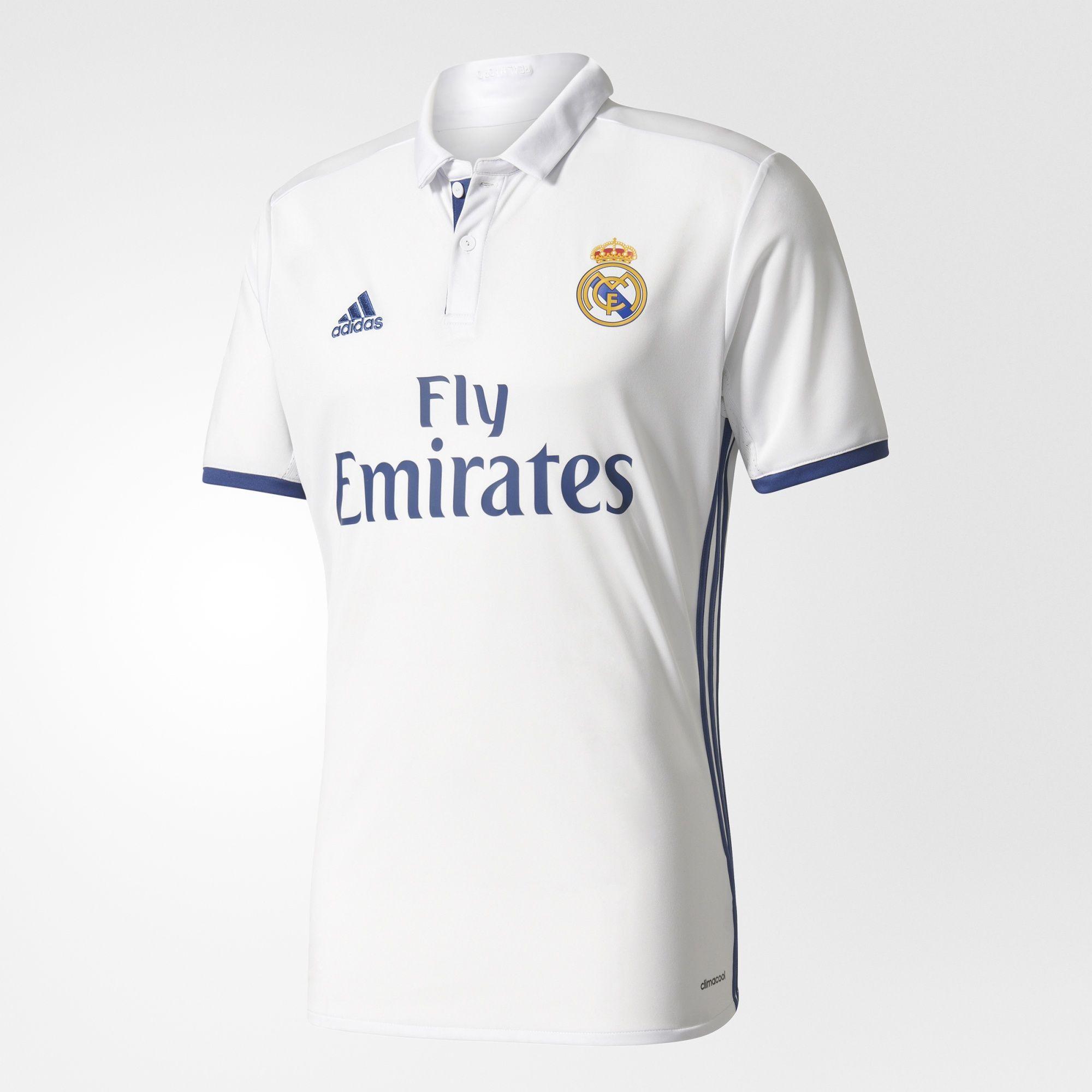 0b8066470c3aa 1ª Equipación Real Madrid CF 2016 2017 - Camiseta oficial para ...