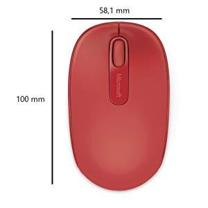 Microsoft U7Z-00034 Wireless Mouse - Red