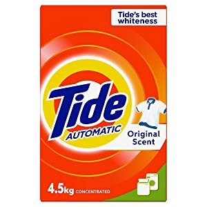 Tide Automatic Original Scent Detergent Powder - front & Top load 4.5 Kg, Pack of 1