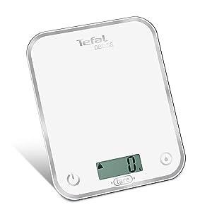 Topco Balance de cuisine num/érique avec /écran LCD Argent/é 1-5000 g