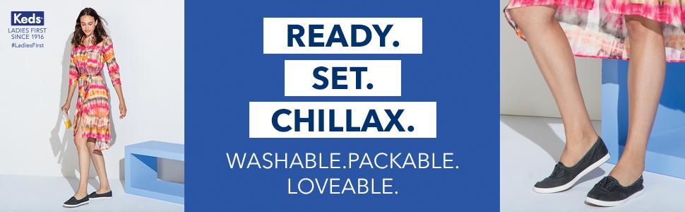 Keds Chillax Mini Seasonal Solid