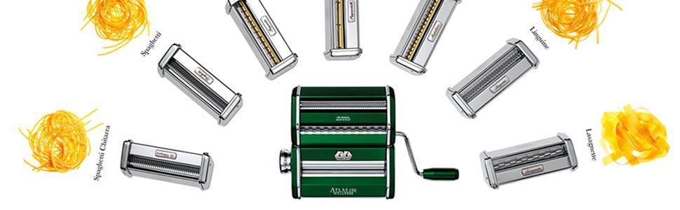 Marcato Atlas 150 Pasta Machine Chrome Silver Wellness Amazon Co Uk Kitchen Amp Home