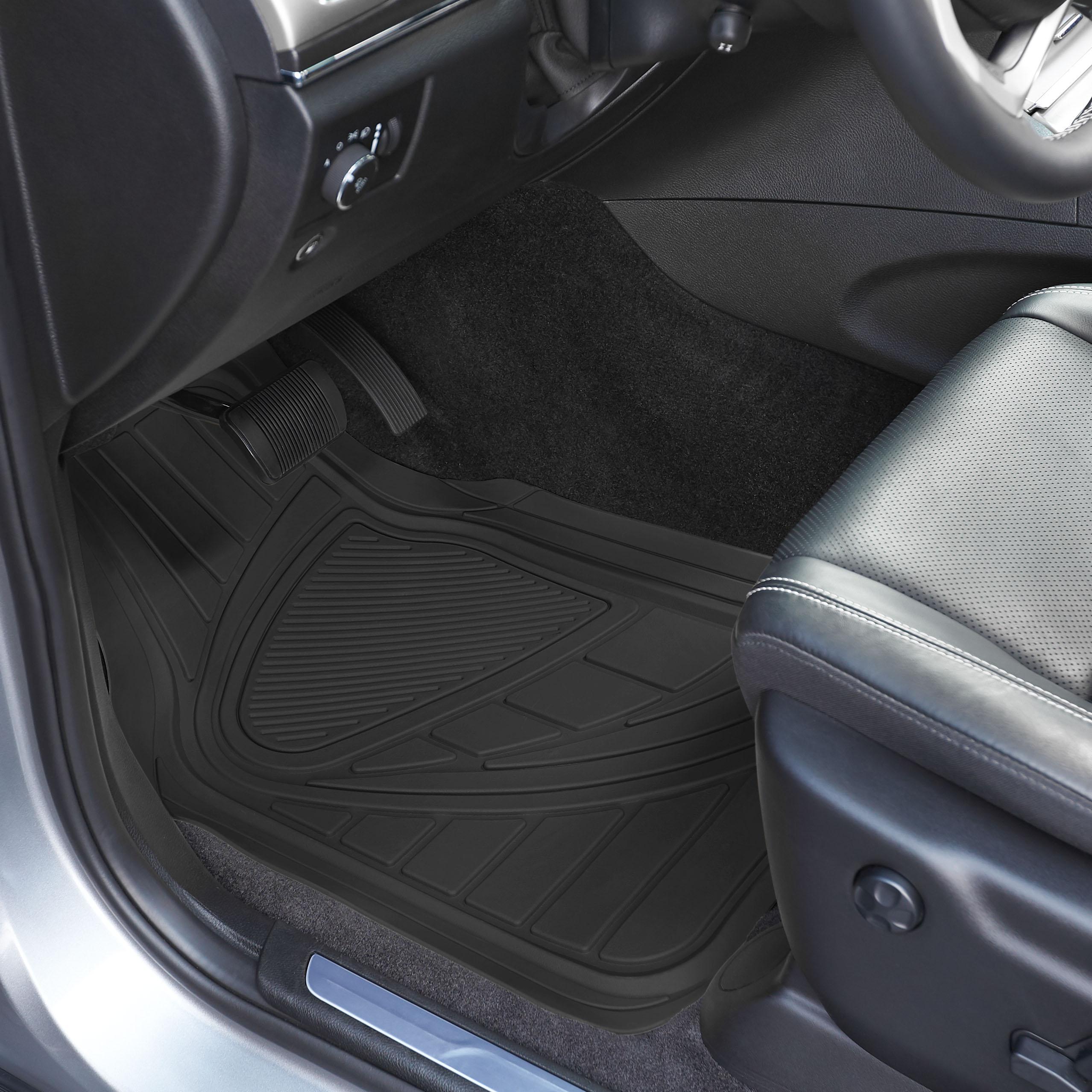 Amazon.com: AmazonBasics 4 Piece Car Floor Mat, Black