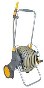 Hozelock Assembled Metal Hose 60 m Cart with 30m Hose