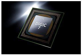処理能力が飛躍的に進化 映像エンジンDIGIC 7搭載!