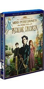 ミス・ペレグリンと奇妙なこどもたち 3枚組3D・2Dブルーレイ&DVD(初回生産限定)
