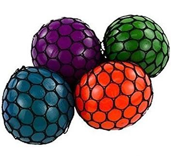 Squishy Ball In A Net : Amazon.com: Mesh Squishy Ball (Pack of 12): Toys & Games