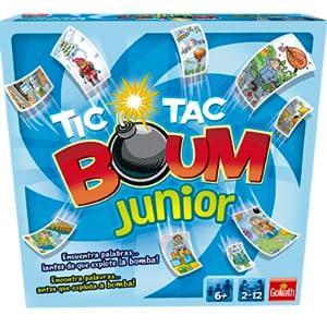 Goliath - Tic Tac Boum Junior, Juego de Cartas , Encuentra la Palabra (70508) , color/modelo surtido: Amazon.es: Juguetes y juegos