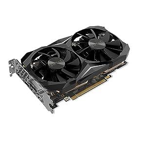 Zotac GeForce GTX 1080 Ti Mini GeForce GTX 1080 Ti 11GB GDDR5X - Tarjeta gráfica (GeForce GTX 1080 Ti, 11 GB, GDDR5X, 352 bit, 11000 MHz, PCI Express ...