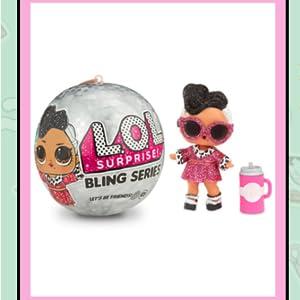 LOL Surprise Doll Series Big Surprise Bling Glitter Ball Kid Child Girl Toy Gift