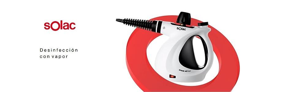 Solac LV1301 Limpiador a vapor, Plástico: Amazon.es: Hogar