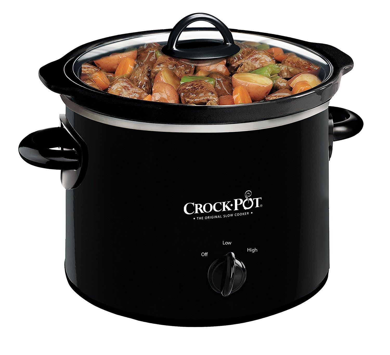 Crock-Pot 2.5-Quart Round Manual Slow Cooker, Polka Dot ...