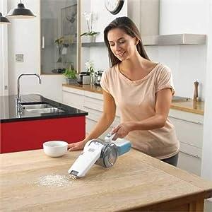 Black+Decker 10.8V Lithium-ion Pivot Dustbuster/Cyclonic Hand Vacuum Cleaner