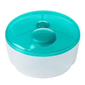 OXO Tot No-Spill Formula Dispenser with Swivel Lid Teal