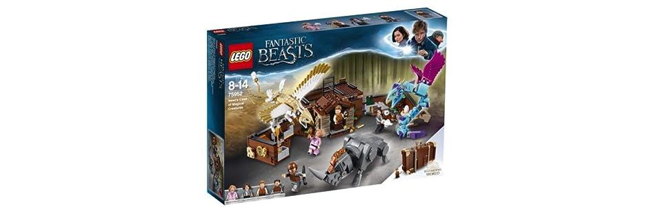 NUOVO COSTRUZIONI LEGO Queenie Goldstein minifigura serie Harry Potter fantastica Bestie