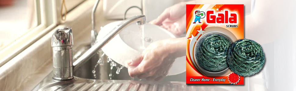Gala 132817 Swash Card Steel Scrubbe