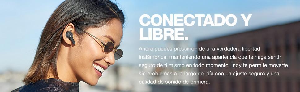 Conectado y Libre.