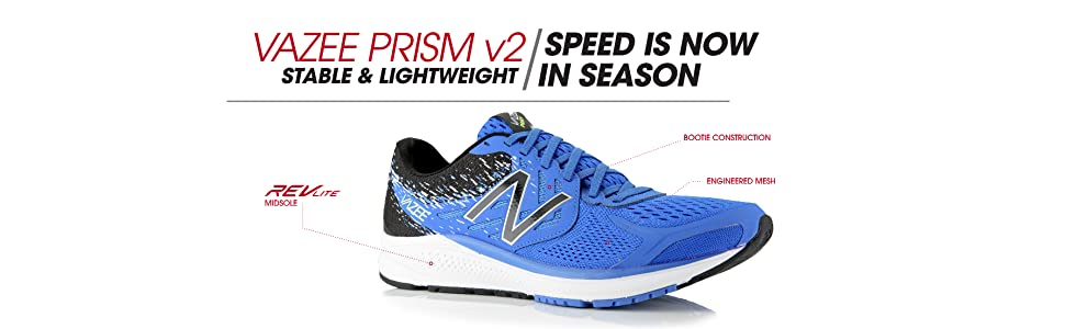 New Balance Men's Vazee Prism V2 Running Shoes: Amazon.co