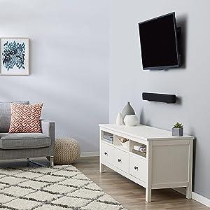 AmazonBasics - Soporte inclinable de montaje en pared para televisores de 32
