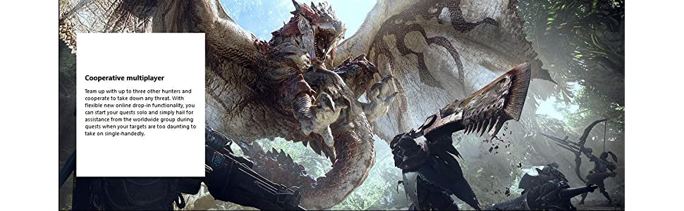 Amazon.com: Monster Hunter: World - Deluxe Edition - Xbox ...