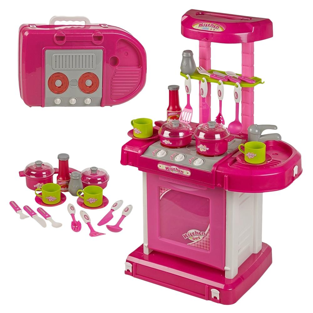 Kitchen Set Toys India: Buy JVM Luxury Battery Operated Kitchen Play Set Super Toy