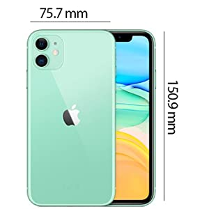Apple MWLY2AE/A iPhone 11 without FaceTime - 64GB, 4G LTE, Green