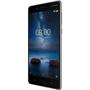 Nokia 8 Dual SIM - Nokia 11NB1SW1A02 5 3 Inch, 64GB, 4GB RAM