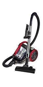 Polti Forzaspira C115_Plus Aspirador cicónico sin bolsa, 2 litros capacidad depósito de recogida, bajo consumo, 80 Decibelios, Plastic, Negro/Amarillo: Amazon.es: Hogar