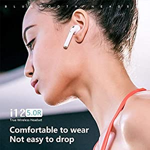 i12 TWS Earphones Wireless Bluetooth Touch Headset