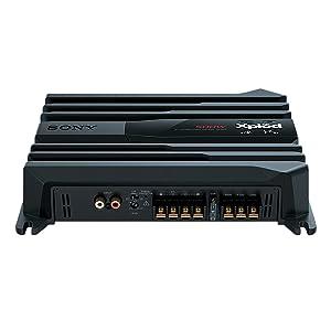 Amplificador estéreo de 2 canales