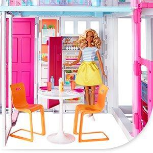 Barbie casa de campo juegos y juguetes - La casa de barbie de juguete ...