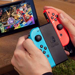 Nintendo Switch - Consola color Azul Neón/Rojo Neón + Fortnite ...
