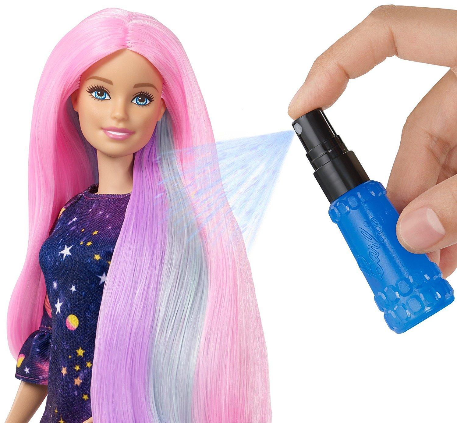 526d0668111e9d Barbie Hair Feature Doll - Color Surprise, Multi Color