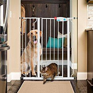 Carlson Pet Products 0941pw Extra Tall Walk Thru Gate With
