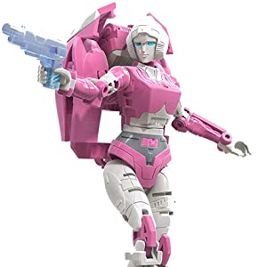 HASBRO Transformers Earthrise WFC-E17 deluxe Arcee Action Figure
