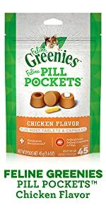 Pill, Pockets, Pouches, Cat Treat Bag, Low Calorie, Complete, Balanced, Nutrition, Adult, Indoor