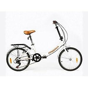 Moma Bikes First Class 2 RJ Bicicleta Plegable Urbana, 6V. Sillin ...