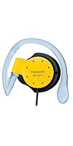 パナソニック オープン型オンイヤーヘッドホン 耳掛け式 防滴仕様 スポーツ用 イエロー RP-HZ11-Y