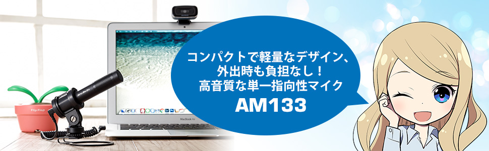 AVerMedia アバーメディア LIVE STREAMER MIC 133 ストリーマー向け 単一指向性コンデンサ マイク SP852 AM133