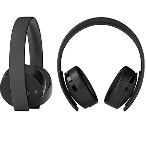 PlayStation 4 Gold Wireless Headset: Amazon.co.uk: PC & Video Games