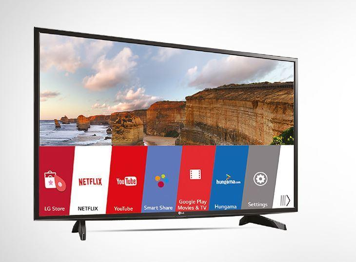 lg 80 cm 32lh576d hd ready smart led ips tv yes amazon. Black Bedroom Furniture Sets. Home Design Ideas
