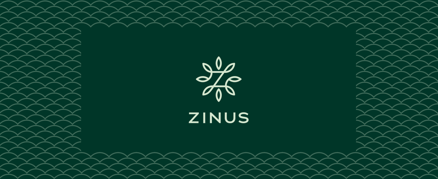 Zinus Green Tea Header Banner / Logo