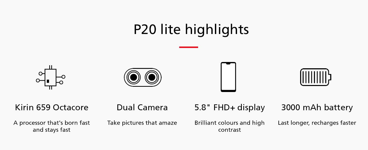 p20 lite features
