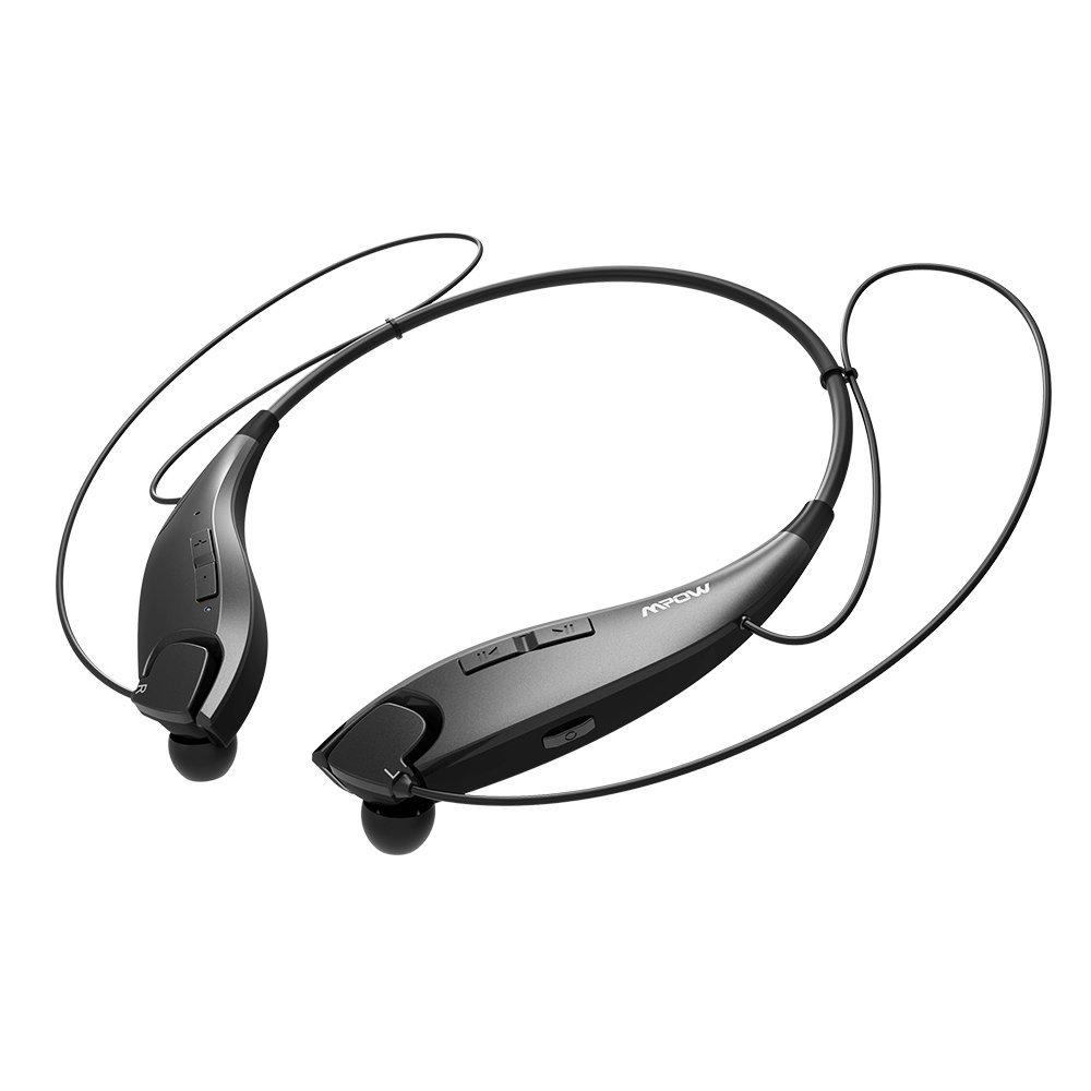 Amazon.com: Mpow Jaws [Gen-3] Bluetooth Headphones Call Vibrate Alert Wireless Neckband Headset