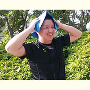 暑さ対策 高吸水 吸水 熱中症 熱中症対策 汗拭き