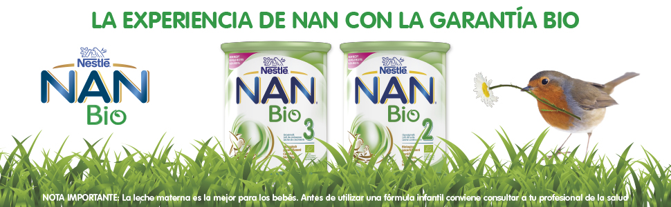 Nestlé NAN Bio 2 Leche en polvo de continuación, formula ...