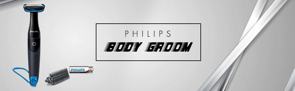 Philips Body Groom BG1024 Battery Operated Body Groomer