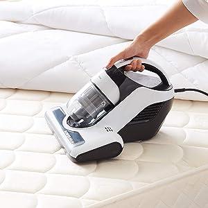 AmazonBasics - Aspiradora de mano para colchón, ropa de cama y ...